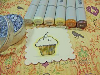 Eye cupcake 1