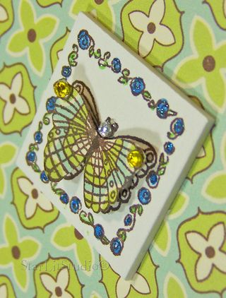 Butterfly inchie 3