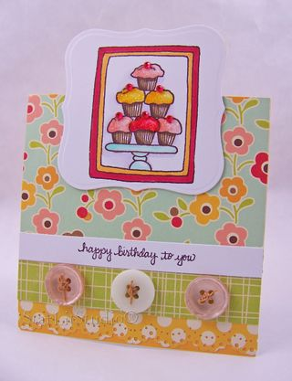 Cupcake tower card 4