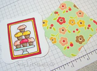Cupcake tower card 3