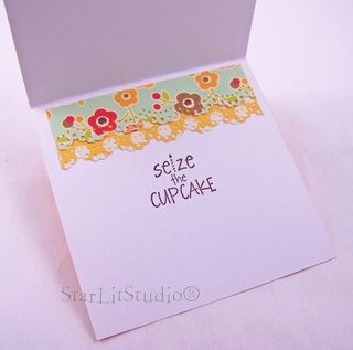 Cupcake tower card 5