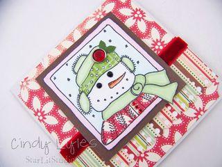 Snowman card 2