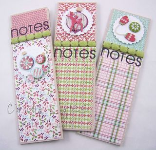 Three holiday notebooks 1