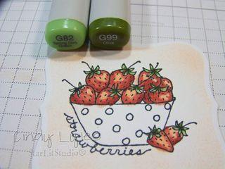 Strawberry card 5