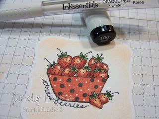 Strawberry card 7