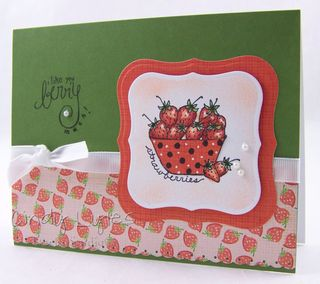 Strawberry card 8