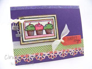 Cupcake card 14