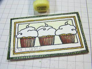 Cupcake card 5
