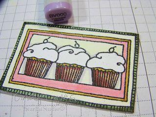 Cupcake card 7