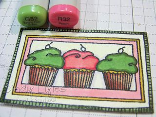 Cupcake card 10