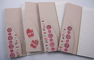 Four notebooks 3