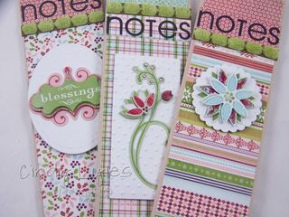 Three holiday notebooks A2