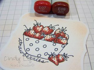 Strawberry card 2