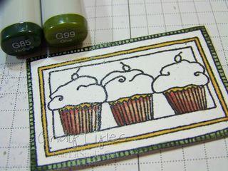 Cupcake card 4