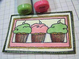 Cupcake card 8