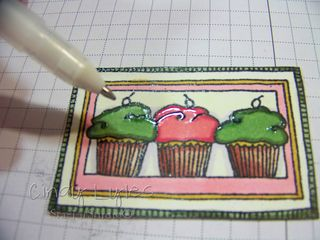 Cupcake card 11