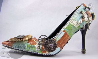 Altered shoe 1