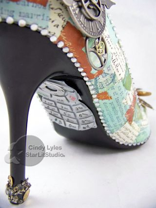 Altered shoe 5