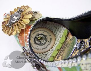 Altered shoe 10
