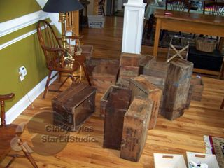 Wood boxes 1