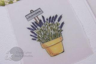 Lavender card 4
