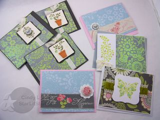 Amy butler cards