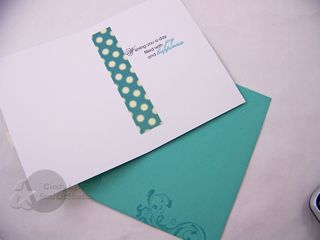 Birthday strano ribbon card 1