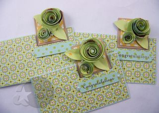Wedding roses card 1