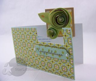 Wedding roses card 2