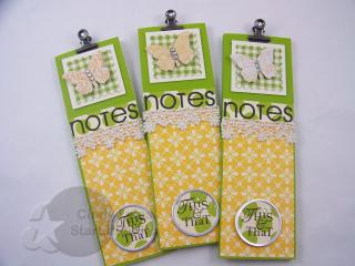 Butterfly notebooks 1