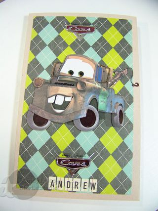 Cars notebook 1