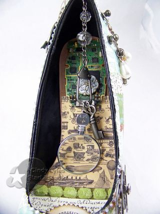 Altered shoe 9