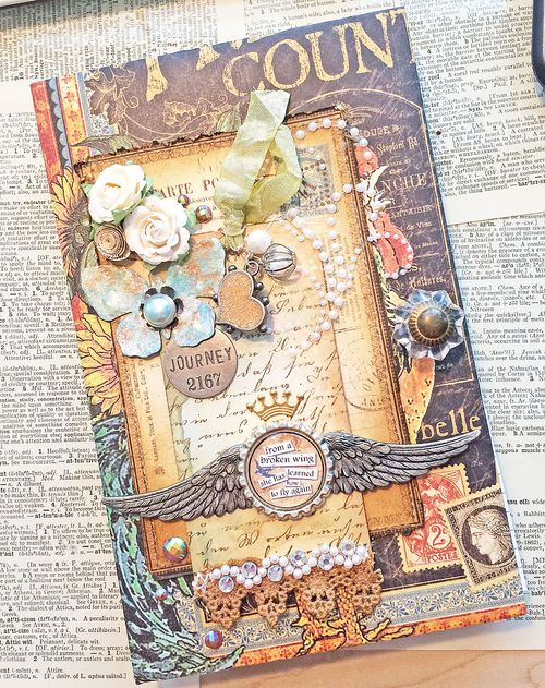 French country notebook