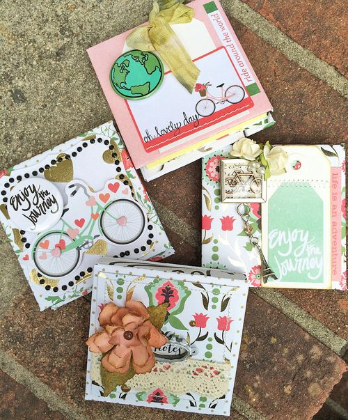 Mint julep 3x3 post it notebooks