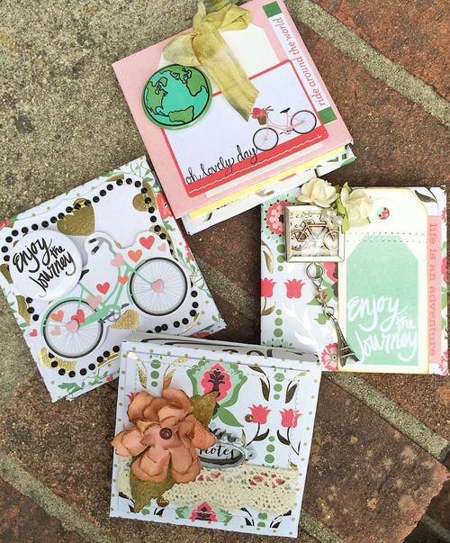 Mint julep 3x3 post it notebooks