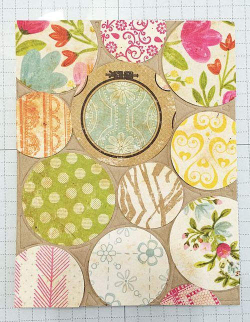 Mod flower card 1