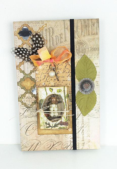 Hanging pearl jar notebook