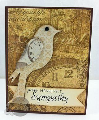 Sizzix bird sympathy