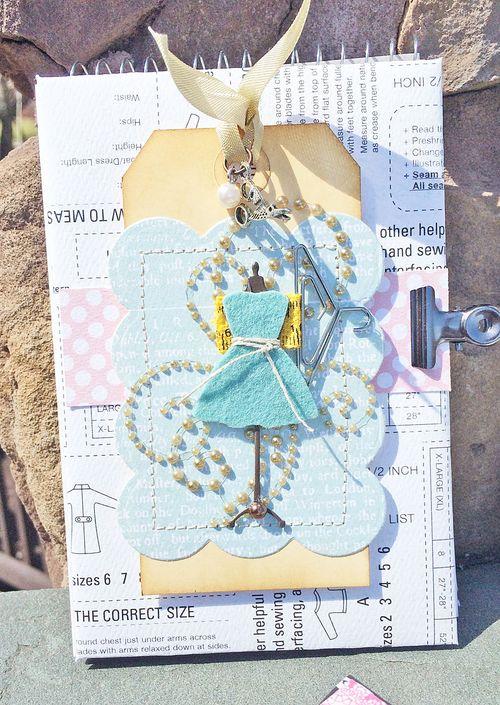 Dress form notebook 1