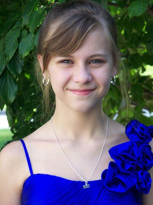 Allison 8th grade graduation