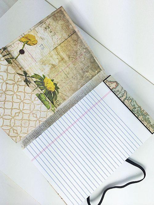 Notebook interior