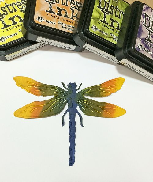 Dragonfly inked