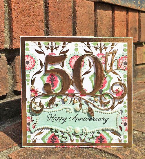 50th anniv card