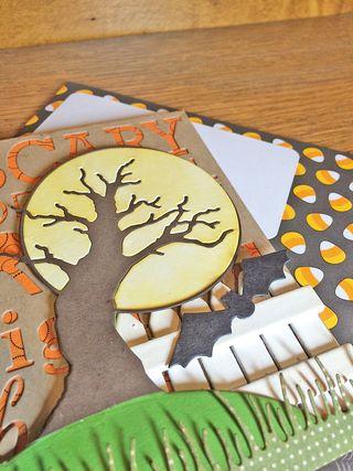 Harvest moon tree closeup