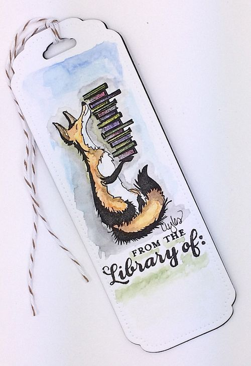 Fox bookmark after