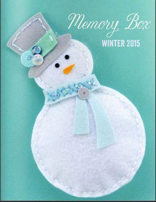 Memory box new winter 2015 release image