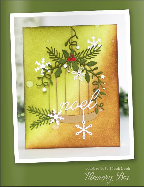 Pam Sparks lookbook for Memory Box and Poppystamps