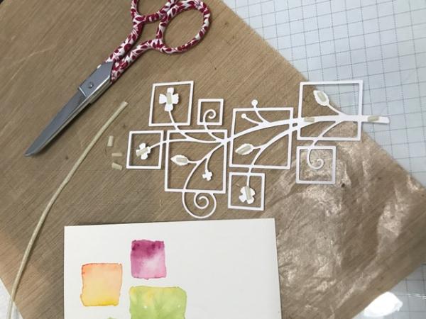 Starlitstudio rolled scor tape poppystamps wandering vine squares
