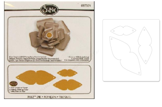 Sizzix bow create a flower