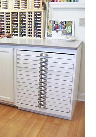 craft die storage drawers starlitstudio